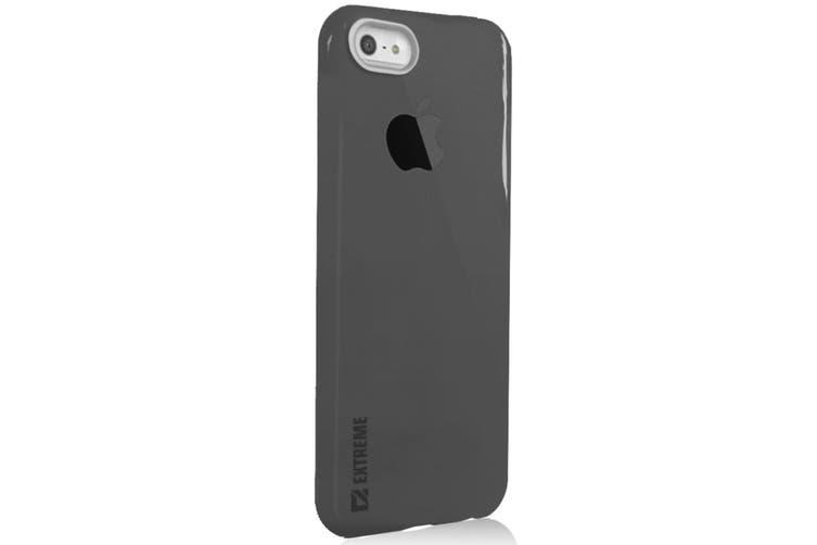Slim Black Transparent Flexible Shock Resistant Cover Case For iPhone 6+/6S Plus