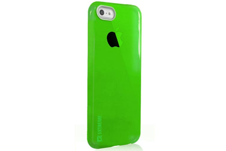 Slim Green Transparent Flexible Shock Resistant Cover Case For iPhone 6+/6S Plus