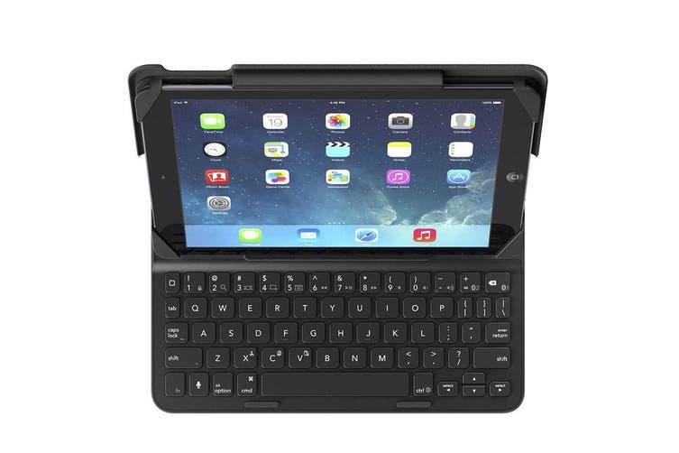 Belkin Qode Slim Style Smart Keyboard Cover Case for Apple iPad Air/Air 2 Black