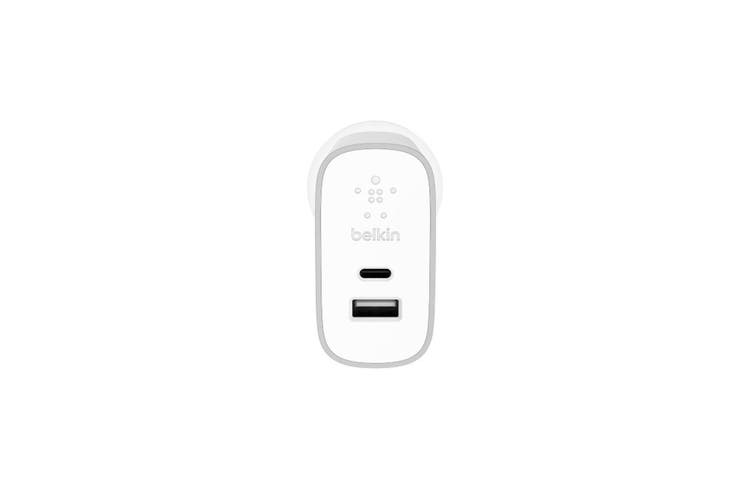 Belkin Dual USB AC Wall Home Charger Power Adapter 27W for Phone/Android/Samsung