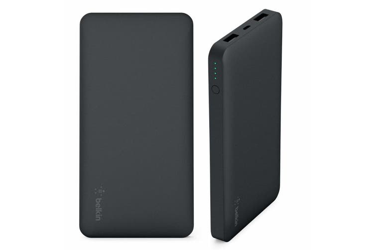 Belkin Pocket Power Bank 10000mAh Portable Battery Charger w Micro USB Cable BLK