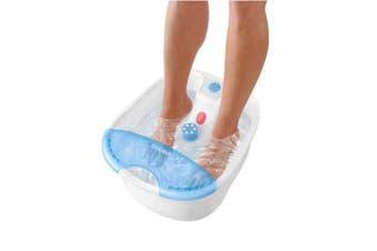 HoMedics Foot Spa Water Pedicure Bath Vibration Massager/Infra red heat spot/ IR