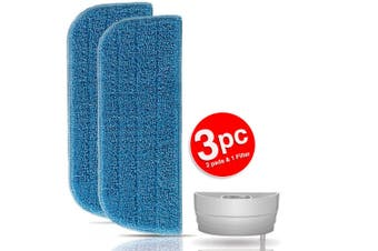 Philips Replacement Microfibre Cloth Pad/Filter for FC7020 FC7021 Steam Mop