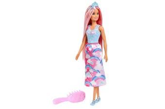 Barbie 29cm Dreamtopia Hair Play Doll w/ Hairbrush/Comb Girls/Kids 3y+ Toys