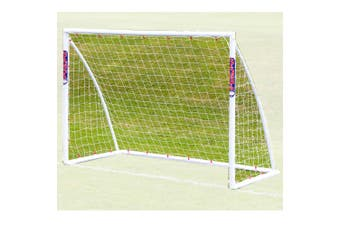 Samba G14B Portable PVC 2.4 x 1.8m Football/Soccer Goal Net Sport Training/Game