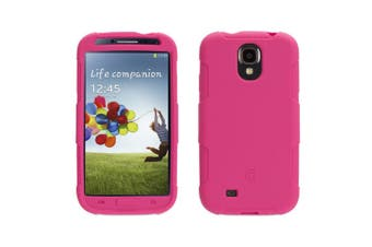 Griffin Survivor Skin Tough Shock Drop Protection Case/Cover for Galaxy S4 Pink