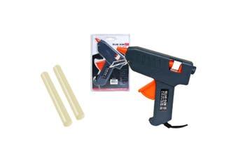 Sansai Hot Glue Gun Point Heating Melt Craft Tool Repair w/ 2 Gluing Sticks