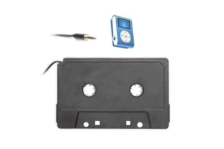 Audio AUX Car Tape Cassette Adapter Converter for Apple iPhone iPod MP3 Player