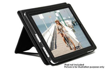 Gecko Premium Deluxe Protective Stand Cover Folio for iPad 2 3 4 Apple/Case/BK