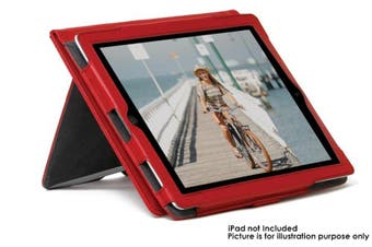 Gecko Premium Protective Stand Case/Cover Folio Deluxe For iPad 2/3/4  Red
