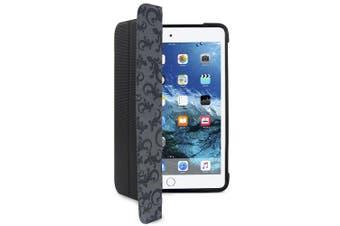 Gecko Rugged Hybrid Folio Case/Cover Impact Resistant For iPad Mini 4 Black/Grey
