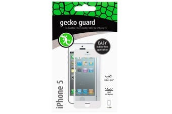Gecko GG700205 Matte Screen Protector Guard for Apple/iPhone 5 5s Full Cover WHT