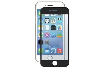 2PK Gecko Bubble Free Screen Protector Cover Film Guard For Apple iPhone 6 Black