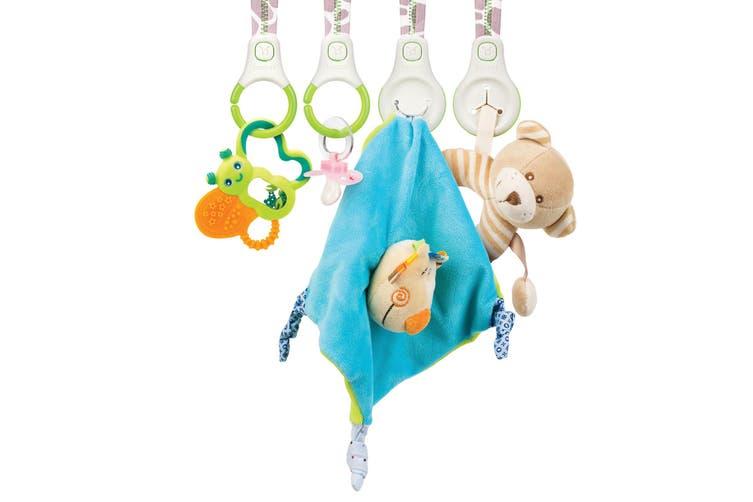2PK Benbat Baby Car Seat Hanging Organizer/Storage/Holder Infant/ 0m+ w/ Hooks
