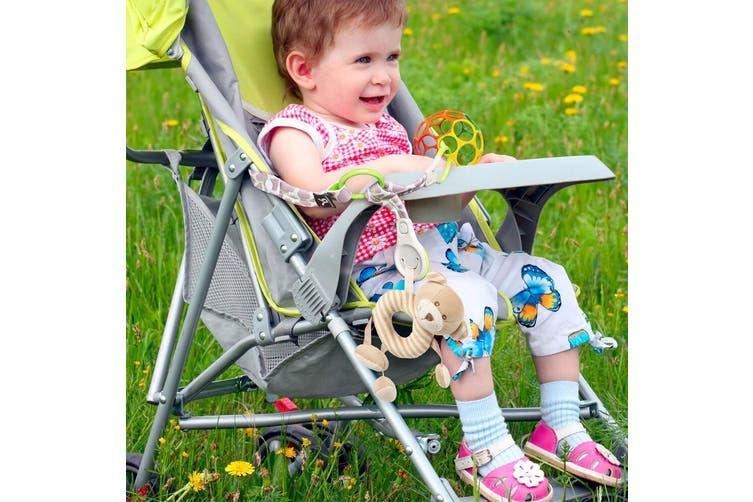 Benbat Baby/Infant Multi Organiser Stroller/Prams/Bouncers 0m+ Toy Holder w Hook