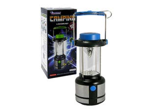 Sansai Camping LED Lantern Set Outdoor Reading/Fishing/Camp Light w/Compass Blue