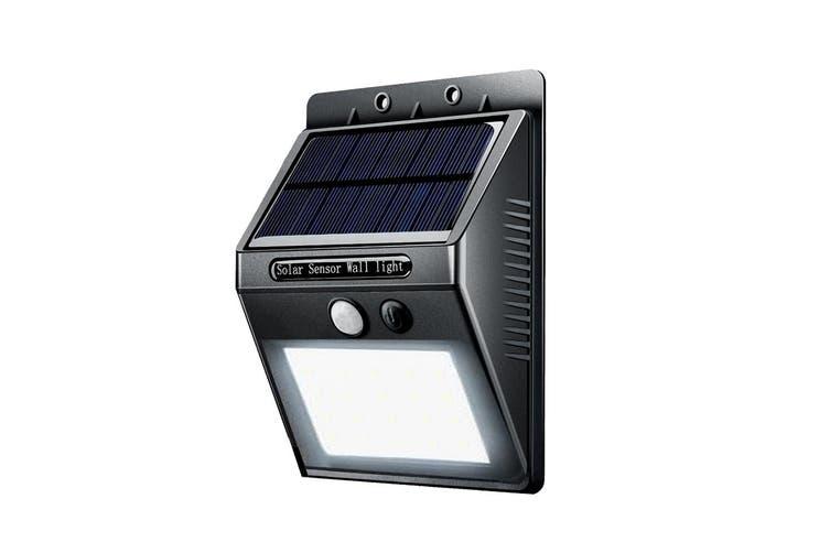 4x Sansai Wall Motion Sensor Solar Rechargeable LED Indoor/Outdoor/Garden Lights