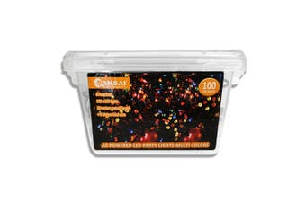 Sansai AC Power Indoor/Outdoor 10m 100 LED String Lights Party/Christmas Multi