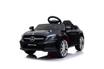 Indoor/Outdoor Rechargeable 12V Battery Electric Ride On Benz Car Kids Toy BLK