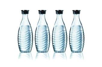 4X Sodastream Glass Carafe 600Ml Spare Bottle For Crystal & Penguin Drink Maker