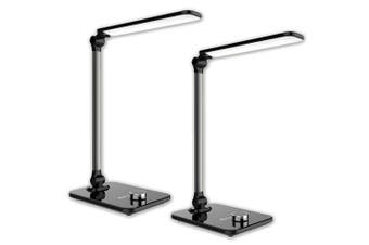 2x Sansai Smart Home/Office Rotatable LED Desk Lamp/Light w/ Temperature Mode