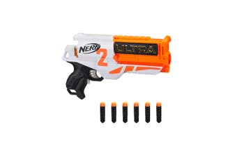 Nerf Ultra Two Kids/Children Motorised Blaster Toy Dart Gun w/ 6 Darts 8y+