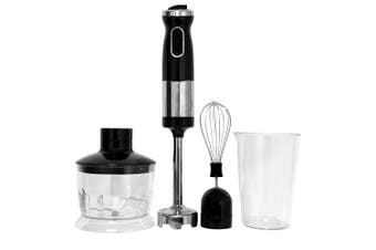 Healthy Choice 700W Electric Hand Stick Blender Food Chopper Mixer Beater Black