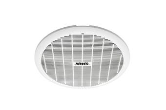 Heller 200mm Exhaust Ball Bearing Fan Bathroom Ventilation Ceiling Round White