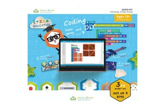 Honeycomb DiY Queen Kit Connecting/Coding Educational/Learning Kids Toy 12y+