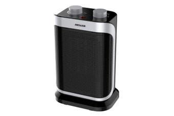Heller HCFH1500B 1500W Portable Ceramic Oscillating Fan Heater /Desk/Floor/Black