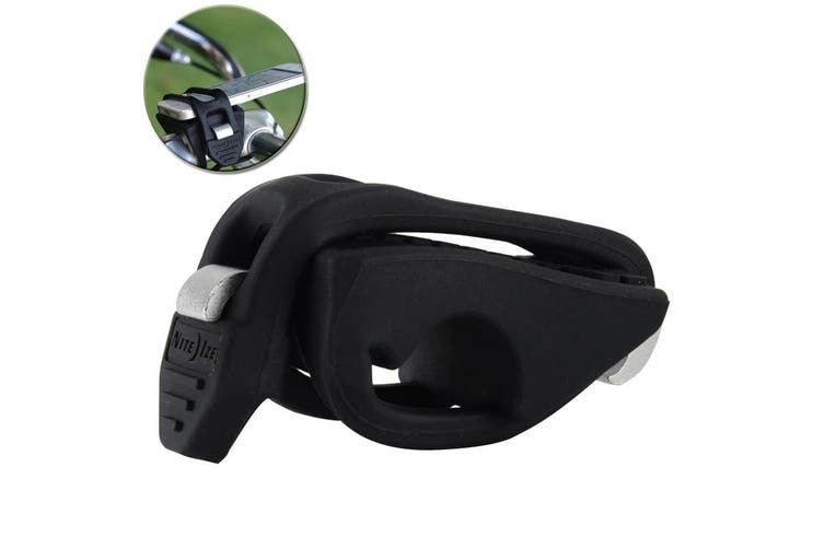Nite Ize Handle Band Universal Handlebar Phone Mount for Bicycles/Strollers BLK