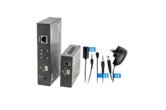 PRO2 HDMI Extender IR over Single Cat6 up to 50M AV Loop out Adapter/Transmitter