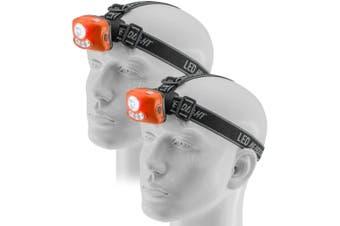 2PK Doss 3W LED Spotlight Headlight Head Light/Torch/Lamp/Camping/Hiking/Bike