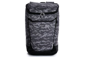 "Hedgren Link Bond Camo Backpack/15.6"" Laptop Carry Bag w/ RFID Protection/Cover"