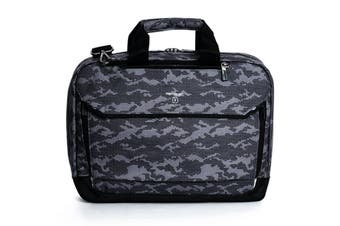 "Hedgren Link Hitch Camo 3-Way Briefcase/15"" Laptop Carry Bag w/ RFID Protection"