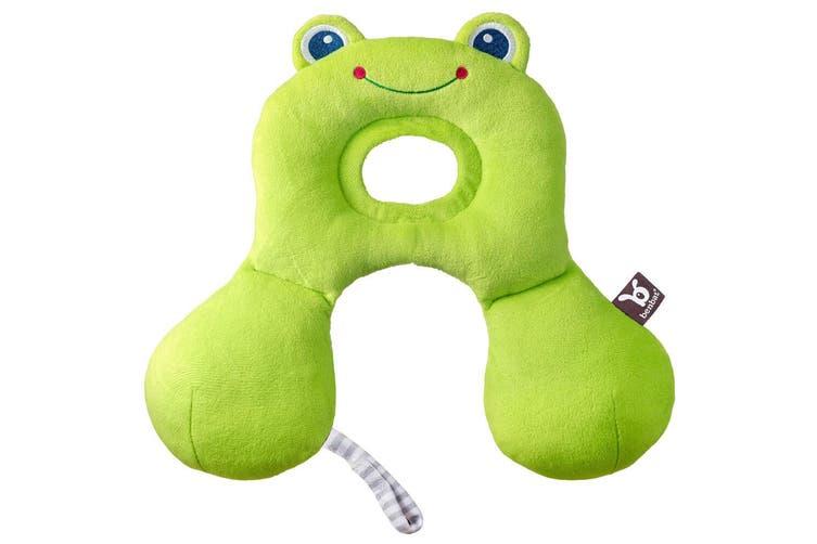 Benbat Total Support Headrest Head/Neck Travel Baby Car Seat Pillow 0-12m Frog