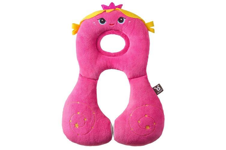 Benbat Total Support Headrest Head/Neck Rest Travel Baby 1-4y Car Pillow Fairy