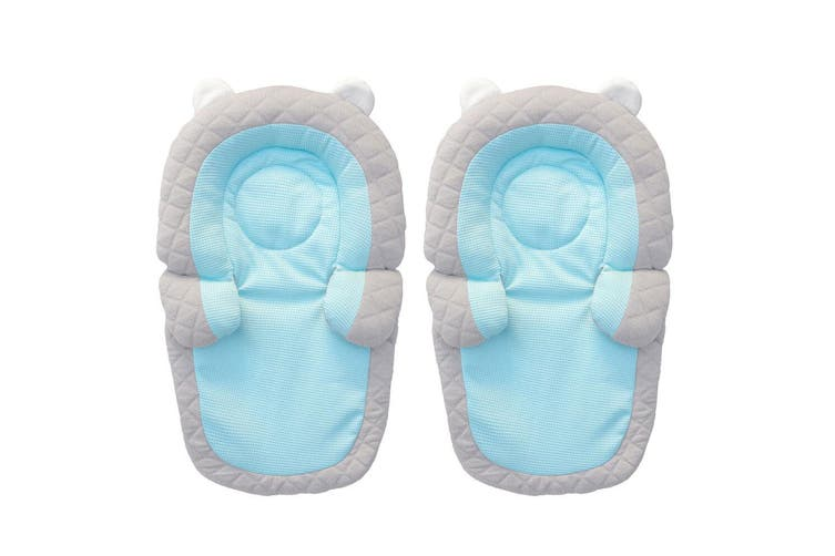 2PK Benbat 2-in-1 Travel Friends Head/Neck Support Pillow Headrest Baby/Infant