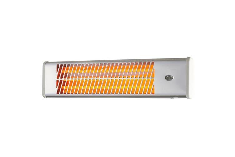 Heller Electric Strip Heater Water res. IP24 Wall Mountable Indoor Heating 1500W