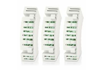 3x Philips HU4112/00 Anti-bacterial Cartridge Refill f/Air Humidifier Water Tank