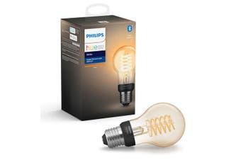 Philips Hue Bluetooth 7W A60 E27 Filament Smart Light Bulb App Control White