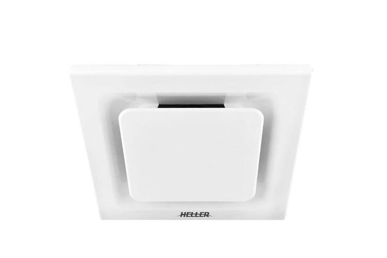 Heller 25cm Ventilating Ducted Exhaust Fan w/ Duct Kit/Bathroom/Laundry - White