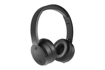 JAM Already There Wireless Bluetooth On-Ear Headphone w/Mic/Sweat Resistant BLK