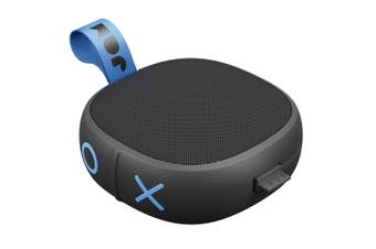 Jam Hang Up Wireless Rechargeable Portable AUX Bluetooth Speaker w/ Cable Black