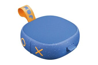 Jam Hang Up Wireless Rechargeable Portable AUX Bluetooth Speaker w/ Cable Blue