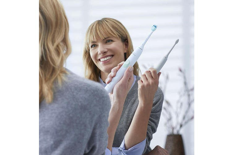 Philips HX6807/06 Sonicare Rechargeable Electric Dental Clean Toothbrush White