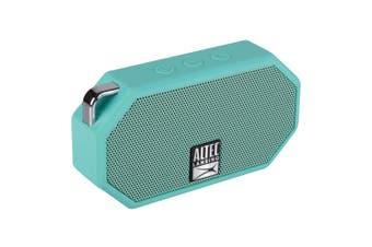 Altec Lansing Mini H20 3 Wireless Portable Bluetooth Waterproof Speaker Mint GRN