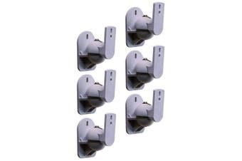 3 Pairs Cinema IQ Universal Adjustable 8kg Pan/Tilt Speaker Brackets/Mount SL