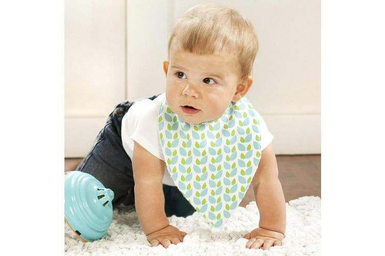 4pc JJ Cole Bandana Bibs Baby/Toddler Cotton Feeding Saliva Towel Forest/Fauna
