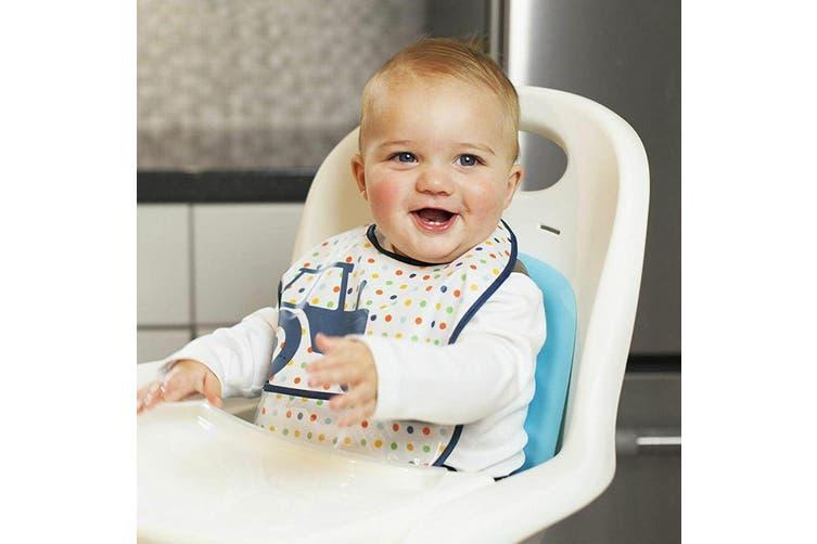 3pc JJ Cole Bibs Baby/Toddler Feeding Saliva/Drool Burp Towel Big Diggers Set